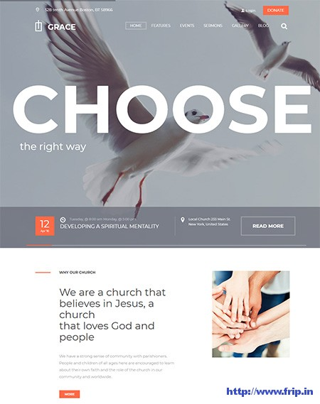 Grace-Church-WordPress-Theme