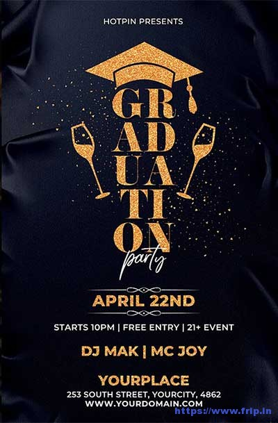 Graduation-Party-Flyer-Template