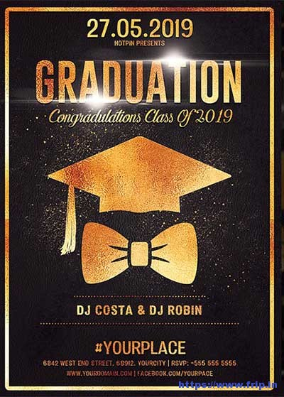 Graduation-Party-Flyer-Templates