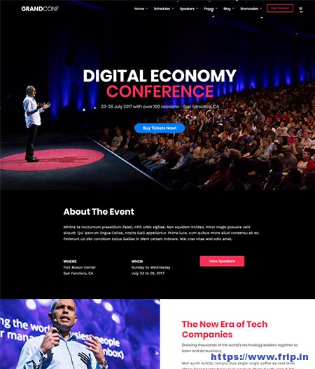 30 Best Event WordPress Themes For Events 2019
