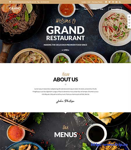 Grand-Restaurant-WordPress-Theme