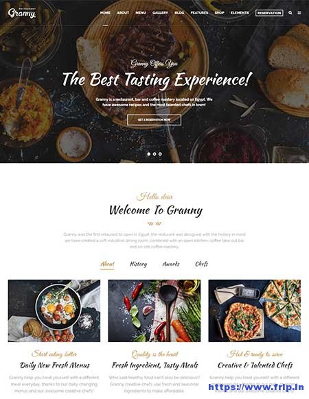 Granny-Restaurant-&-Cafe-WordPress-Theme
