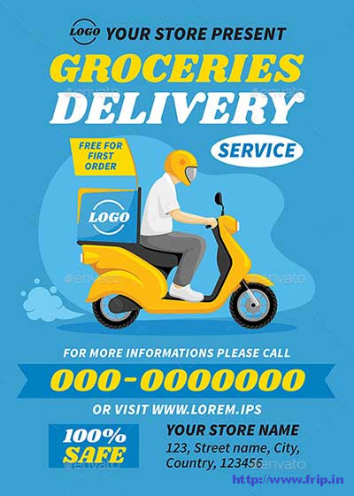 Groceries-Delivery-Service-Set