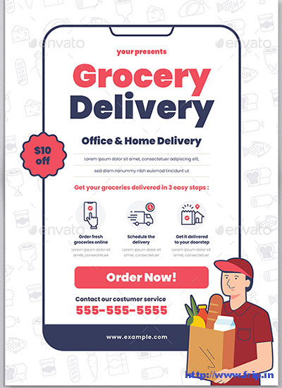 Grocery-Delivery-Flyeerss