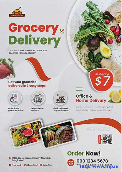 Grocery-Delivery-Flyer