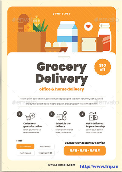 Grocery-Delivery-Flyers
