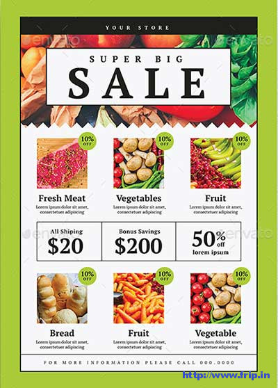Grocery-Store-Flyer