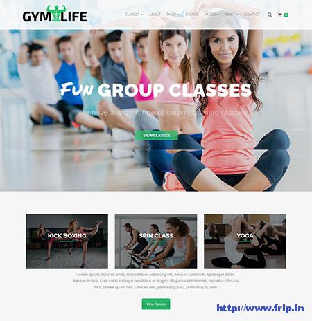 GymLife-Fitness-WordPress-Theme