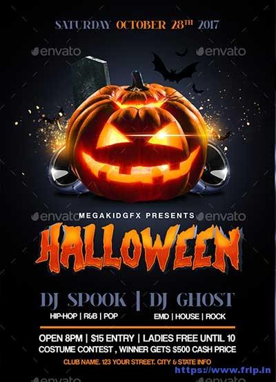 Halloween-Bash-Flyer-Templates