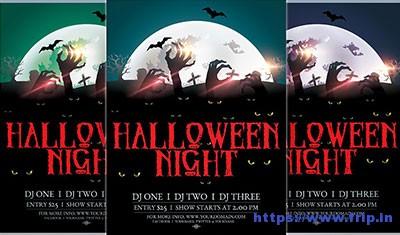 Halloween-Night flyer