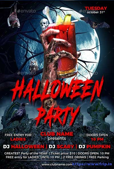 Halloween-Party-Flyer-Template