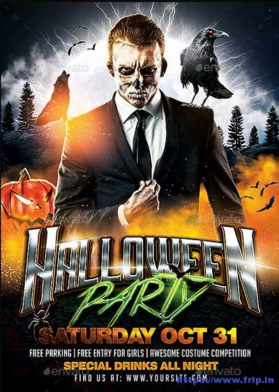 Halloween-Party-Flyer