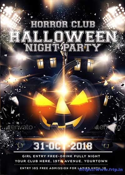 Halloween-Party-Flyers