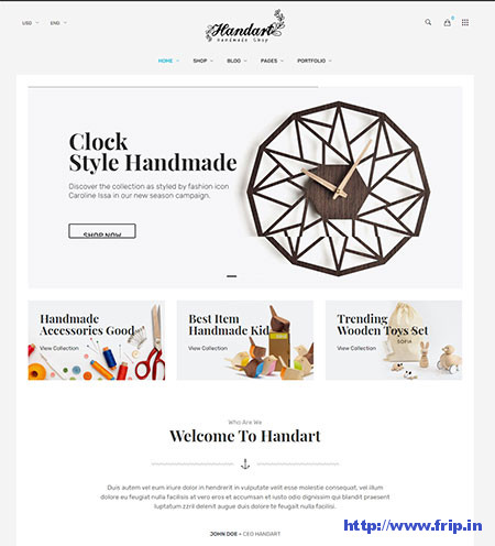 Handart-Handmade-Theme