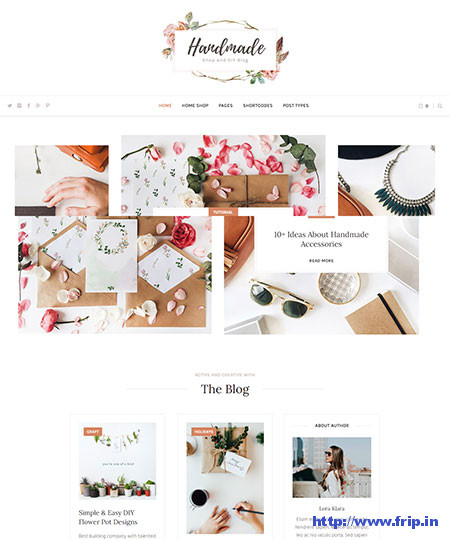 Handmade-Shop-WordPress-Theme