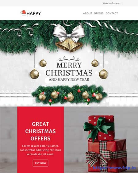 Happy-Christmas-Email-Template-With-StampReady-Builder-Access
