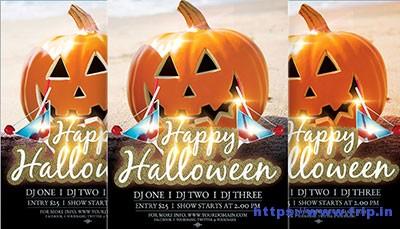 Happy-Halloween flyer