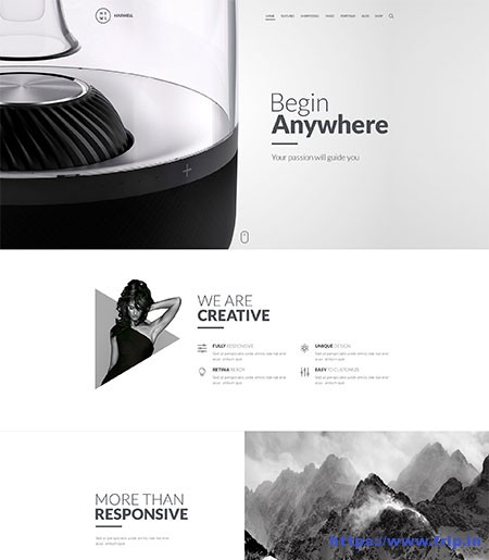 Haswell-Multipurpose-Website-Template