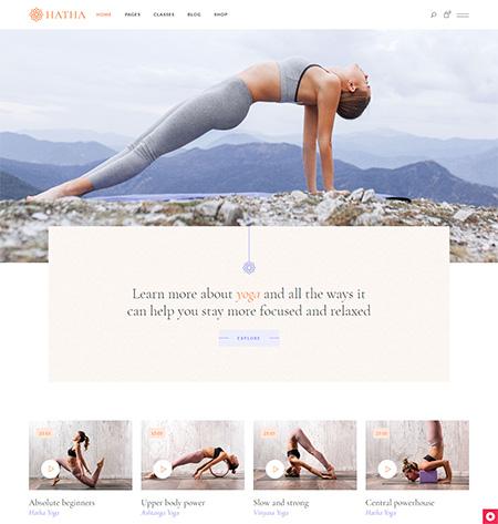 Hatha-Yoga-WordPress-Theme