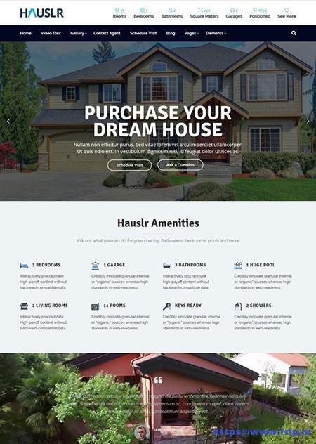 Hauslr-Single-Property-WordPress-Theme