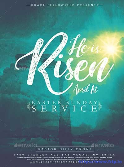 He-Is-Risen-Flyer-Template