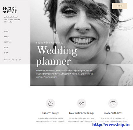 Heartbeat-Event-Planner-Theme
