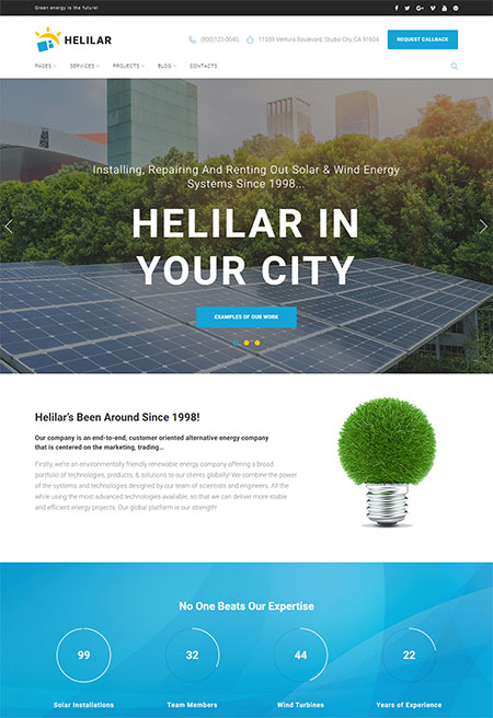 Helilar-Solar-Energy-WordPress-Theme