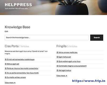 HelpPress-Knowledge-Base-Plugin