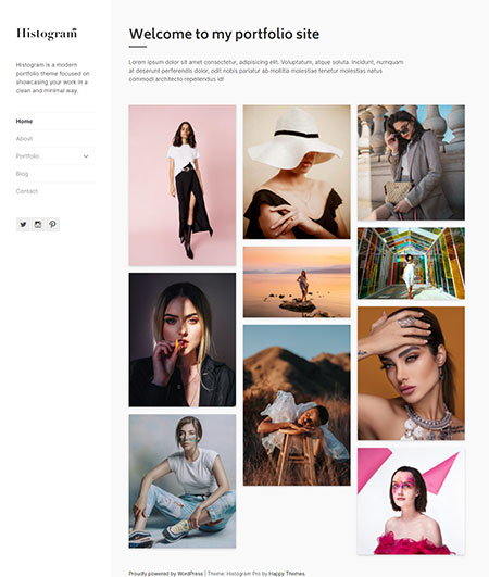 Histogram-Portfolio-WordPress-Theme