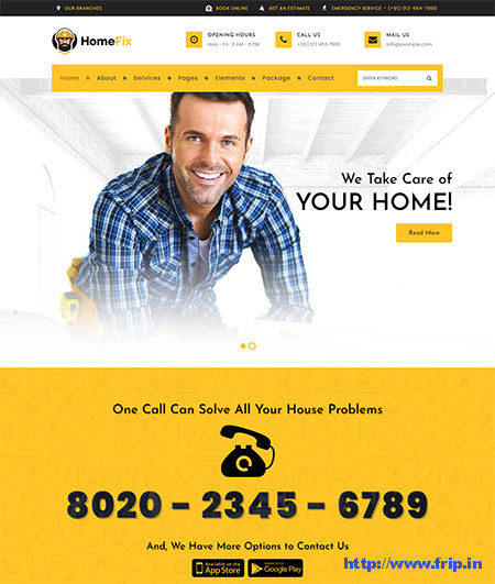 HomeFix-Handyman-WordPress-Theme