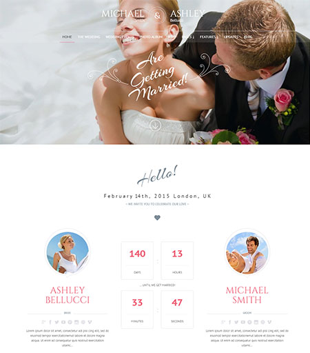 Honeymoon-Wedding-WordPress-Theme