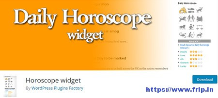 Horoscope-Widget-Plugin
