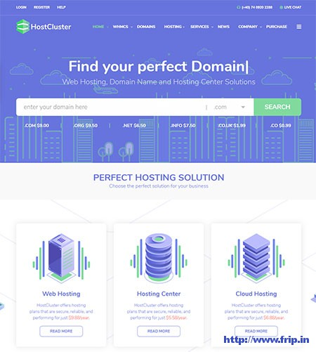 Hostcluster-Server-&-Hosting-WordPress-Theme