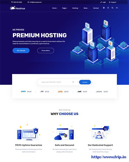 Hostinza-Web-Hosting-WordPress-Theme