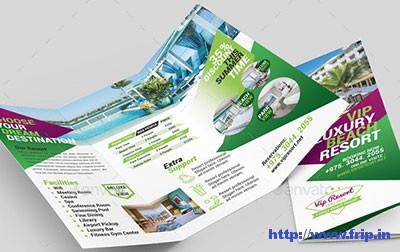 Hotel-Resort-Trifold-Brochure