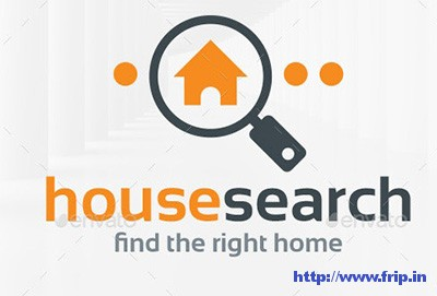 House-Search-Logo-Template