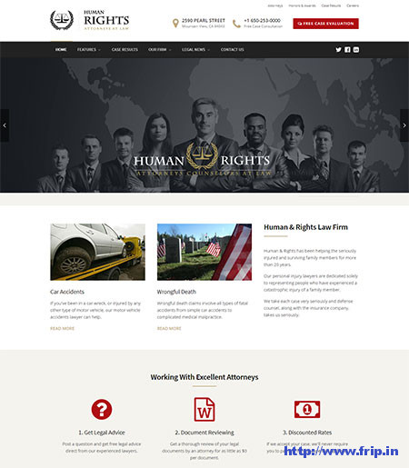 HumanRights-Lawyer-WordPress-Theme