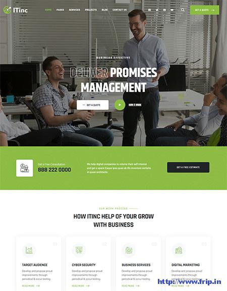 ITInc-Technology-WordPress-Theme