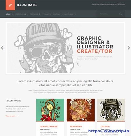 Illustrate-Portfolio-WordPress-Theme