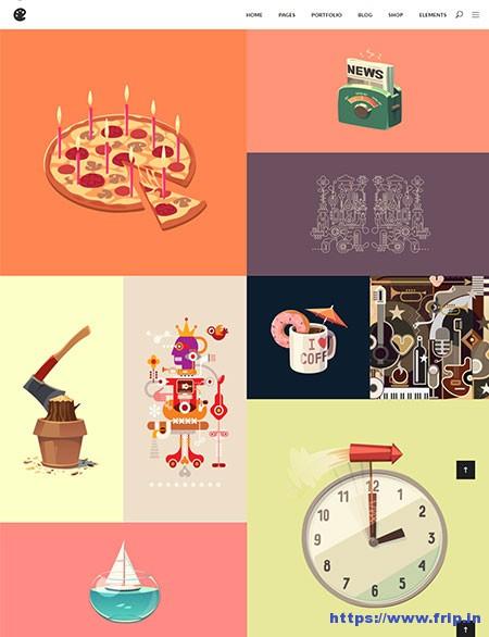 Illustrator-Portfolio-WordPress-Theme
