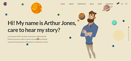Illustrator-Storytelling-WordPress-Theme