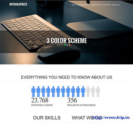 Infographics-WordPress-Theme