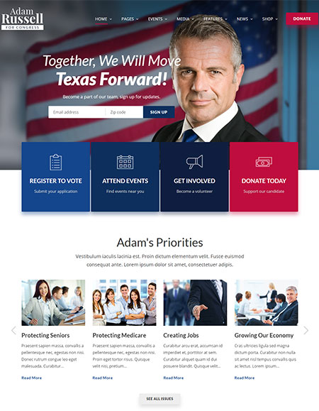 Inforward-Political-Campaign-WordPress-Theme