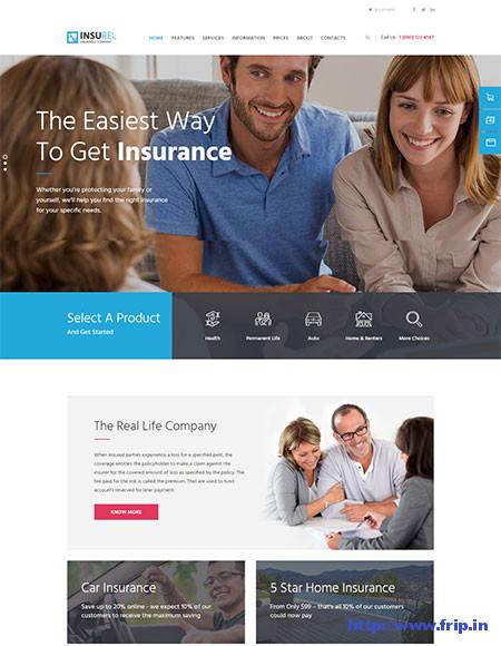 InsuRel-Insurance-WordPress-Theme