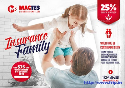 Insurance-Flyer-Bundle-Templates