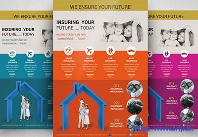 insurance flyer template