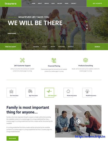 Insurers-Insurance-WordPress-Theme