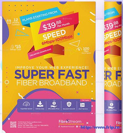 Internet-Broadband-Promotion-Flyer