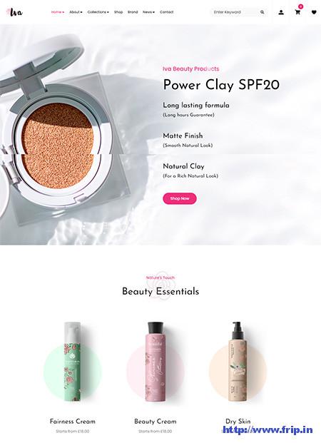 Iva-Cosmetic-Shop-Theme