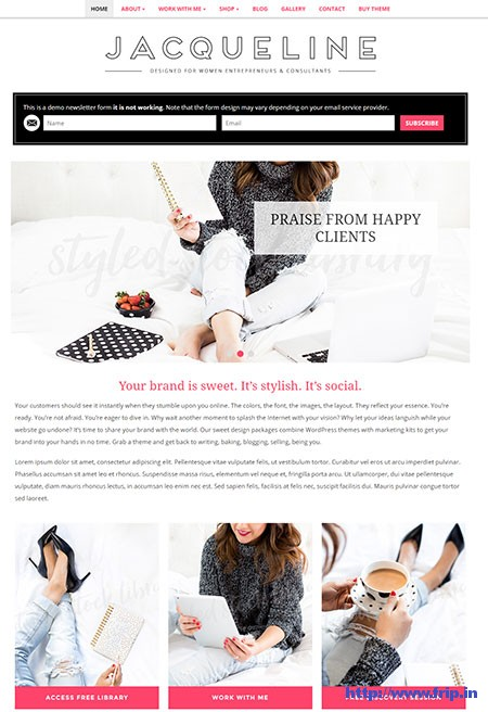 Jacqueline-Feminine-WordPress-Theme